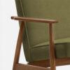 , LOUNGE SESSEL FOX | VELVET - 366 Concept Fox Armchair W03 Velvet Olive detal 100x100