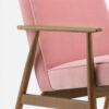 , LOUNGE SESSEL FOX | VELVET - 366 Concept Fox Armchair W03 Velvet Powder Pink detal 100x100