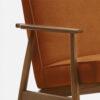 , LOUNGE SESSEL FOX | VELVET - 366 Concept Fox Armchair W03 Velvet Sierra detal 100x100