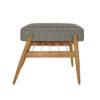 sessel, mobel, wohnen, fussbaenke, FUßBANK FOX | LOFT - 366 concept footrest ash 02 loft grey 100x100