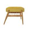 sessel, mobel, wohnen, fussbaenke, FUßBANK FOX | LOFT - 366 concept footrest ash 02 loft mustard 100x100