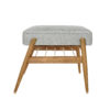 sessel, mobel, wohnen, fussbaenke, FUßBANK FOX | LOFT - 366 concept footrest ash 02 loft silver 100x100