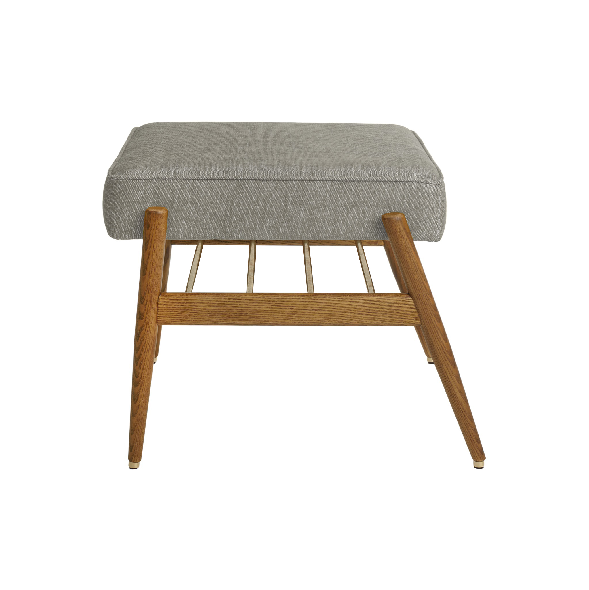 Fox Footrest LOFT Grey Dark Oak
