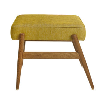 Fox Footstool LOFT Mustard Dark Oak