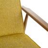 sessel, mobel, wohnen,  - Fox Lounge Chair LOFT Mustard Dark Oak3 100x100