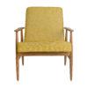 sessel, mobel, wohnen,  - Fox Lounge Chair LOFT Mustard Dark Oak6 100x100