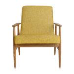 sessel, mobel, wohnen, LOUNGE SESSEL FOX I LOFT - Fox Lounge Chair LOFT Mustard Dark Oak6 150x150
