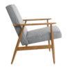 sessel, mobel, wohnen, LOUNGE SESSEL FOX TWEED - Fox Lounge Chair TWEED Grey Dark Oak2 100x100