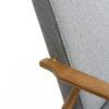 sessel, mobel, wohnen, LOUNGE SESSEL FOX TWEED - Fox Lounge Chair TWEED Grey Dark Oak3 100x100