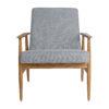 armchairs, furniture, interior-design, LOUNGE CHAIR FOX | TWEED - Fox Lounge Chair TWEED Grey Dark Oak6 100x100