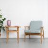 armchairs, furniture, interior-design, LOUNGE CHAIR FOX | TWEED - Mood Fox Lounge Chair TWEED Mentos 100x100