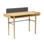 , SCHREIBTISCH GAPA - tabanda gap desk grey fs l 90x90