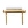 , SCHREIBTISCH GAPA - tabanda gap desk white fr 90x90