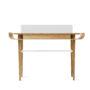 , SCHREIBTISCH GAPA - tabanda gap desk white fr profile 90x90