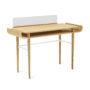 , SCHREIBTISCH GAPA - tabanda gap desk white fs l 90x90