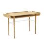 , SCHREIBTISCH GAPA - tabanda gap desk white fs l 2 90x90