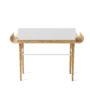 , SCHREIBTISCH GAPA - tabanda gap desk white re 90x90