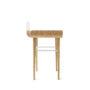 , DESK GAPA - tabanda gap desk white sd l profile 90x90