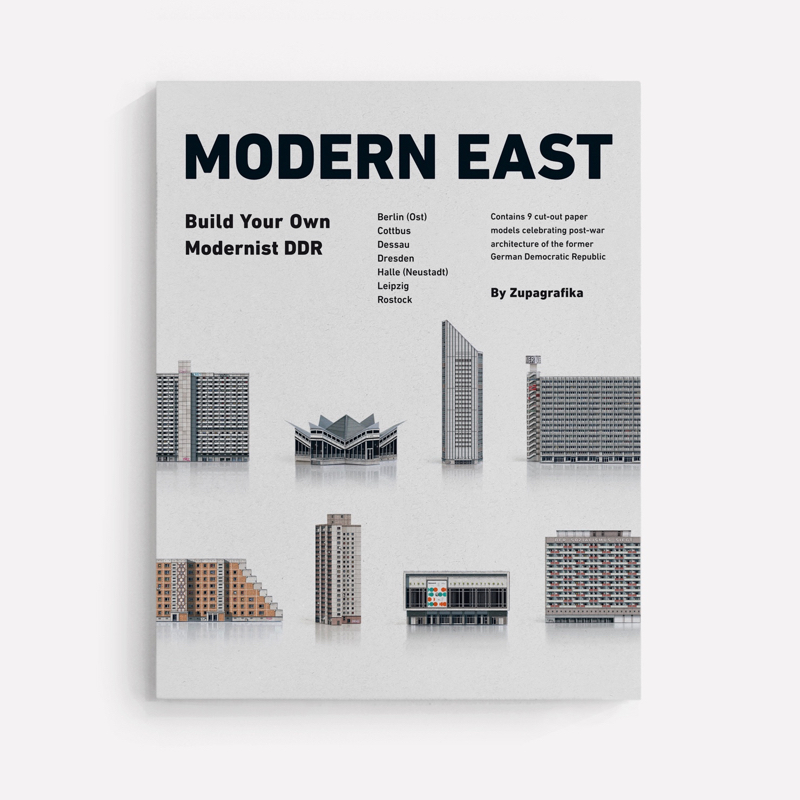 papierartikel, paper-cut-outs, MODERN EAST - 01 moderneast cover background zupagrafika