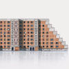 paper-cut-outs, papierartikel, MODERN EAST - 13 moderneast Rostock zupagrafika 100x100