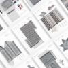 paper-cut-outs, papierartikel, MODERN EAST - 20 ModernEast spread zupagrafika 100x100