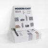 paper-cut-outs, papierartikel, MODERN EAST - 23.Moderneast display zupagrafika 100x100