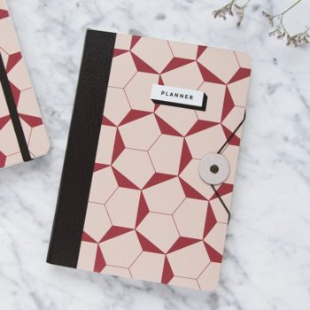 planners, papierartikel, PAPER LOVE ECO FLUFFY PLANNER - Geometric01 350x350