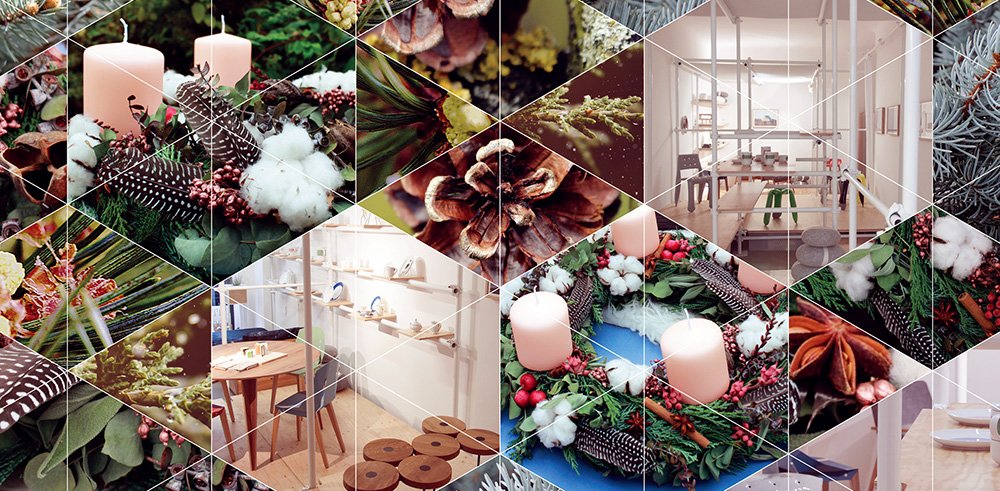 Advent wreath workshop by Kopflegenden