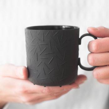 wohnen, tassen, porzellan_und_keramik, TASSE SPRINKLE - SCHWARZ - 7 350x350