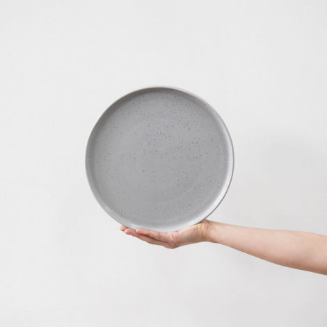 porcelain_and_ceramics, plates, interior-design, HAZE LARGE PLATE - HAZE 53 470x470