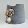 , DOG OR CAT BED GOOD MORNING - lucy gm 90x90