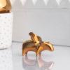 figuren, porzellan_und_keramik, wohnen, GOLDENES GLÜCKSSCHWEINCHEN FIGUR - zbiorcze 100x100