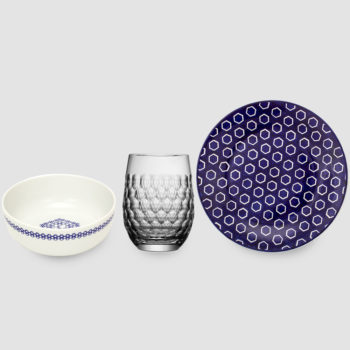 cups, porcelain_and_ceramics, plates, others, interior-design, glass, eggcups, BREAKFAST SET 2 - 200 zestaw 1 350x350