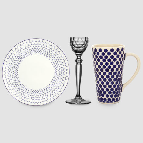 cups, porcelain_and_ceramics, plates, others, interior-design, glass, eggcups, BREAKFAST SET 2 - 202 zestaw 2 470x470