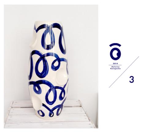 vasen, porzellan_und_keramik, wohnen, VASE OKO KOBALT 3 - OKO3 470x435