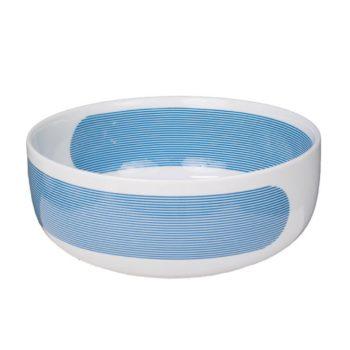 porcelain_and_ceramics, plates, interior-design, SALAD BOWL NEW ATELIER | BLUE - newatelier blue salaterka 350x350