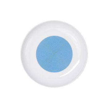 porcelain_and_ceramics, plates, interior-design, SOUP PLATE NEW ATELIER | RED - newatelier blue talerz płytki 18 350x350