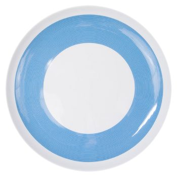 porcelain_and_ceramics, plates, interior-design, PLATE 27CM NEW ATELIER | BLUE - newatelier blue talerz27 350x350
