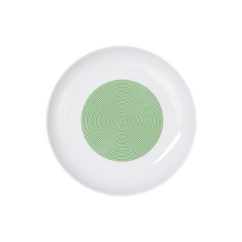 porcelain_and_ceramics, plates, interior-design, PLATE 18CM NEW ATELIER | GREEN - newatelier green talerz18 350x350