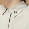 schmuck, pins, PIN HAUSPFERD - IMG 2784p 100x100