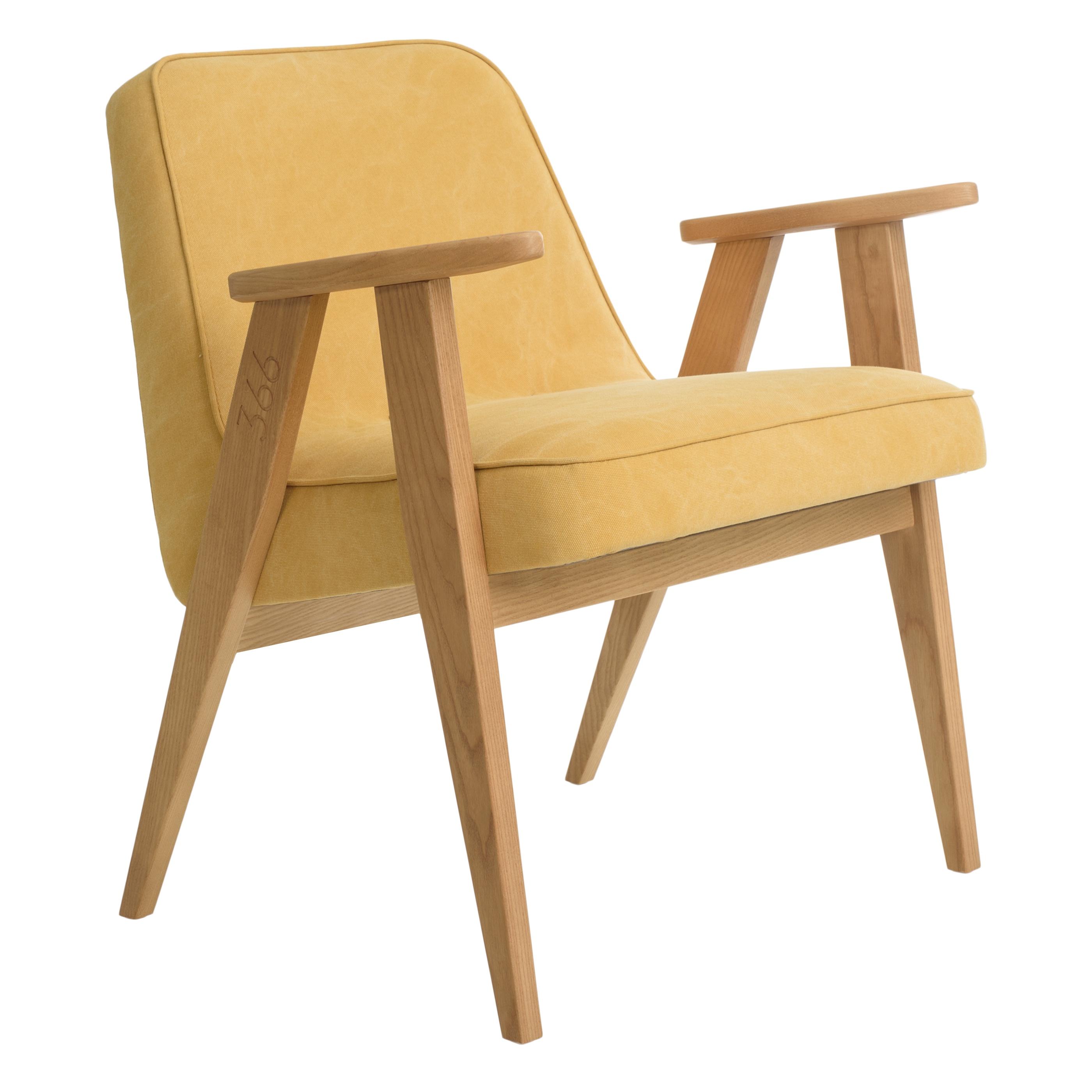 interior-design, furniture, armchairs, ARMCHAIR 366 PLUS DENIM - 366 Easy Chair Denim Sunflower