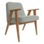 , 366 EASY CHAIR WOOL - 366 Concept   366 easy chair   Wool 11 White   Oak 90x90