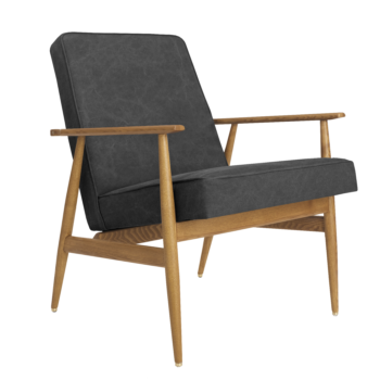 , LOUNGE CHAIR FOX | DENIM - Fox Armchair Denim Carbon 350x350