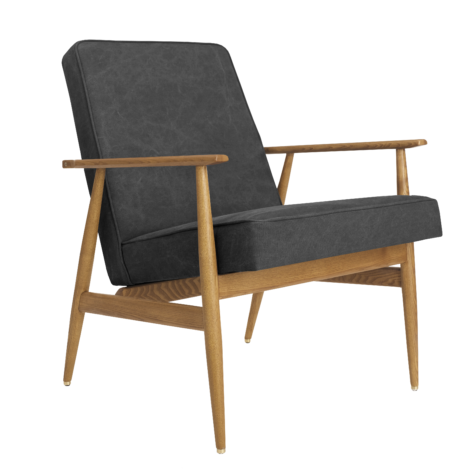 , LOUNGE CHAIR FOX | DENIM - Fox Armchair Denim Carbon 470x470