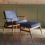, LOUNGE SESSEL FOX | DENIM - Fox Lounge Chair 1 1 90x90