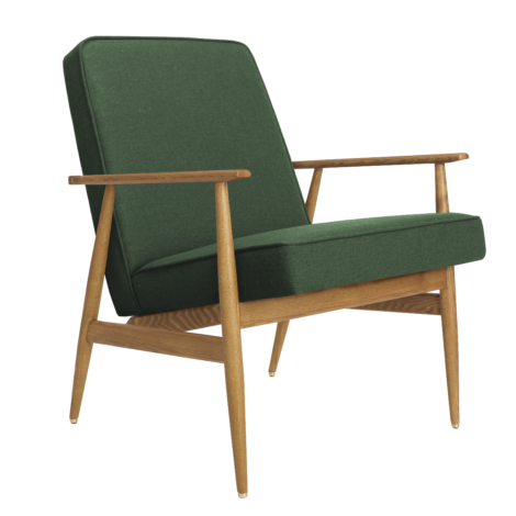 sessel, mobel, wohnen, LOUNGE SESSEL FOX | WOOL - Fox Armchair Wool Bottle Green 470x470