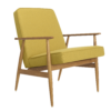 sessel, mobel, wohnen, LOUNGE SESSEL FOX | WOOL - Fox Armchair Wool Mustard 100x100