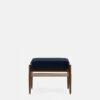 sessel, mobel, wohnen, fussbaenke, FUßBANK FOX | VELVET - 366 Concept Fox Footrest W03 Velvet Indigo front 100x100