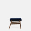 sessel, mobel, wohnen, fussbaenke, FUßBANK FOX | VELVET - 366 Concept Fox Footrest W03 Velvet Indigo side 100x100
