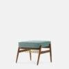 sessel, mobel, wohnen, fussbaenke, FUßBANK FOX | VELVET - 366 Concept Fox Footrest W03 Velvet Mint 100x100